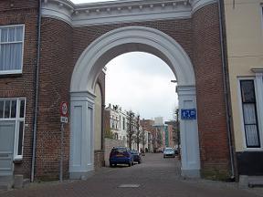 Nieuwepoortstraat in Middelburg