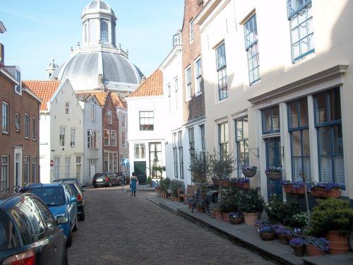 oostkerk middelburg straatgezicht