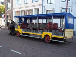 paardentram in Middelburg