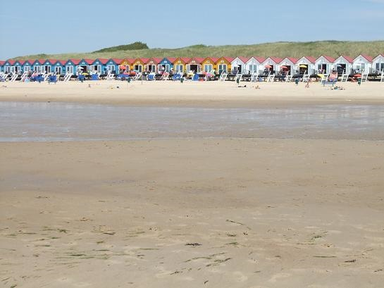 strandhuisjes op nollestrand