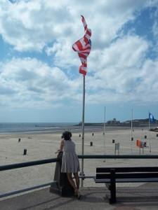 uitzicht strand Vlissingen