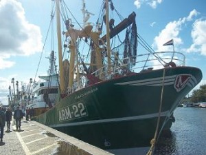 arm22 vissersboot arnemuiden