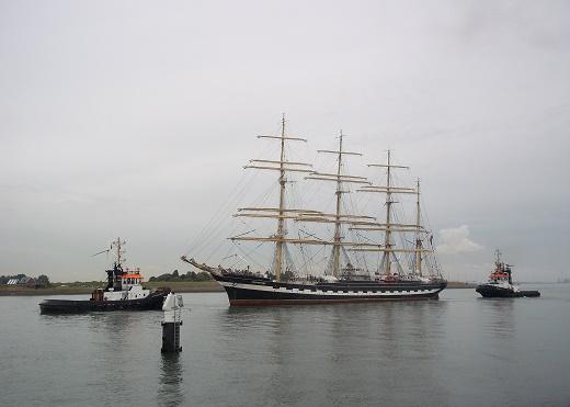 zeilschip Kruzenshtern Vlissingen 2013