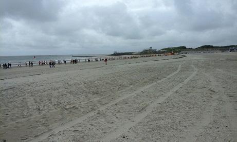 colours of the sea Vlissingen op het strand