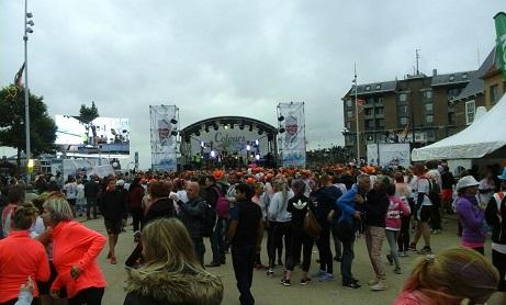 feest op bellamypark in Vlissingen