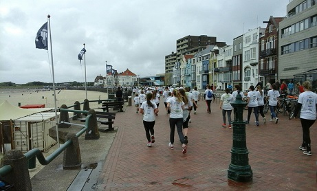Colours of the Sea Vlissingen: hardlopen op de boulevard