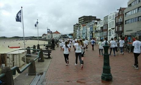 Colours of the Sea Vlissingen: hardlopen op de boulevard