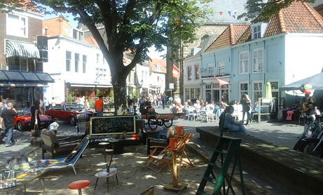oude markt met vintage festival