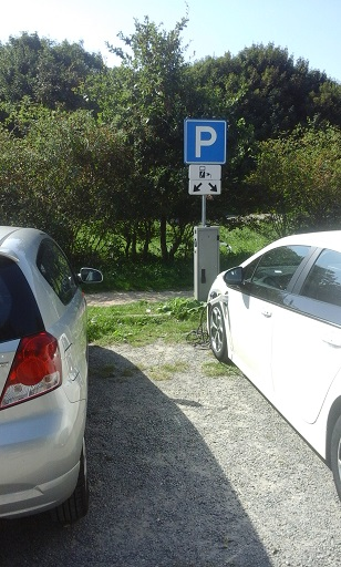 oplaadpunt dishoek elektrische auto