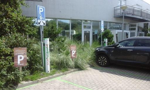 oplaadpunt elektrische auto Tulip Hotel Westduin