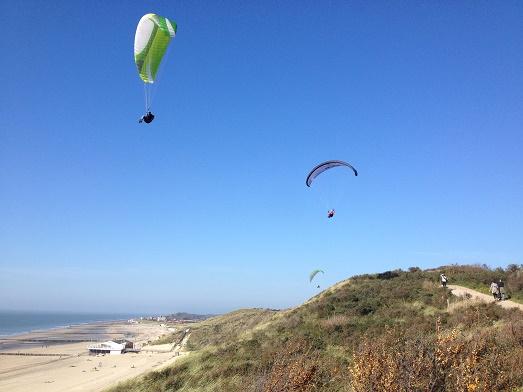 paravliegen in zoutelande zeeland