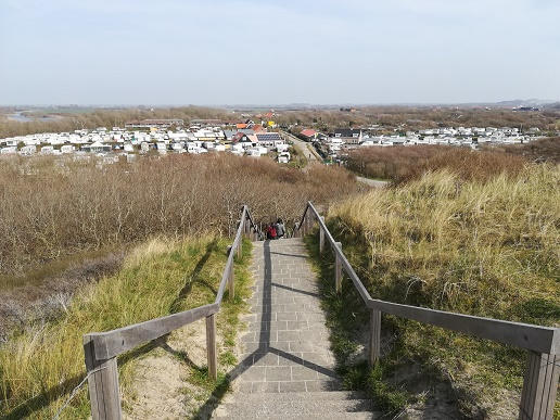 campings bij het strand van Westkapelle