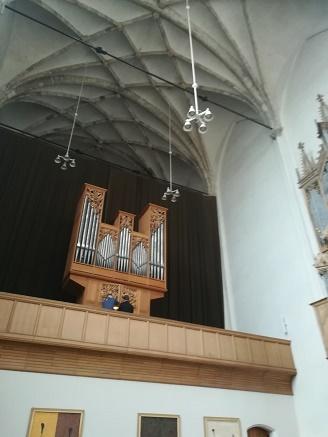 orgelmuziek in koorkerk
