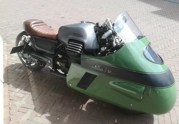 Vanguard Moto Guzzi V 8