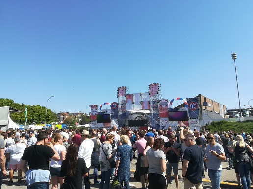 Liberty Dance Stage Vlissingen
