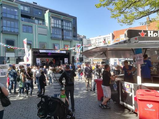 Roosevelt plein op Oude Markt