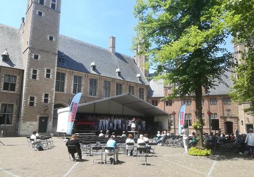 Korendag op abdij middelburg