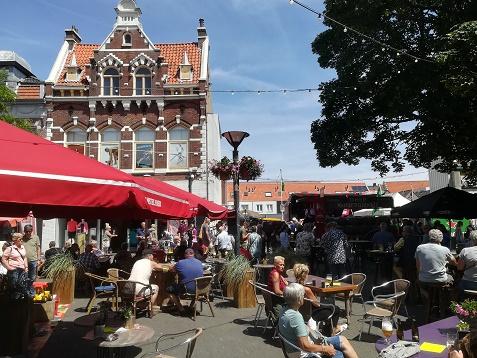 terras Kleine Markt Vlissingen