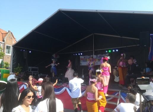 Thaise muziek in Middelburg
