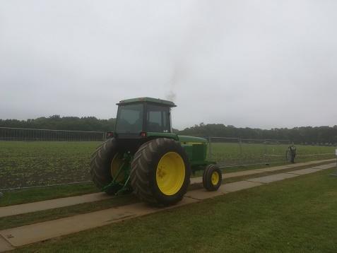 tractor op trekkertrek