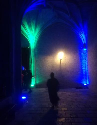 kloostergangen abdij middelburg