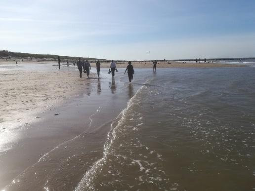 strandwandeling in Domburg Zeeland