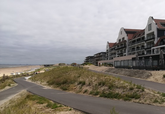 hotel de blanke top in Cadzand-Bad