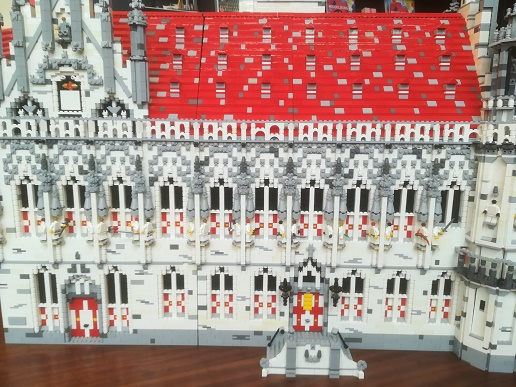 middelburg stadhuis van 30.000 lego blokjes