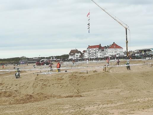 motorcross op strand van vlissingen