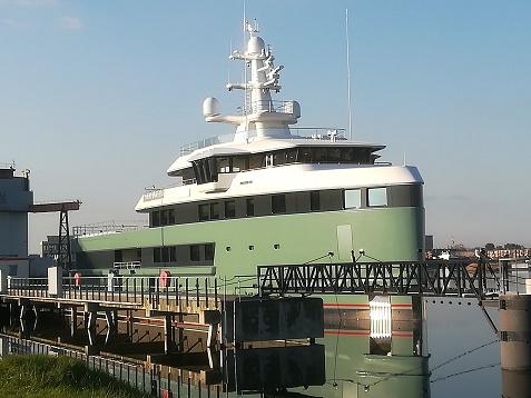 superjacht Vlissingen SeaXlorer 62