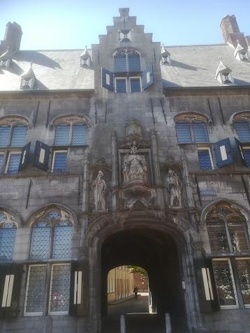 Gistpoort Middelburg detail