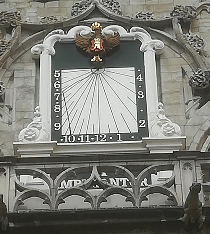 zonnewijzer stadhuis middelburg