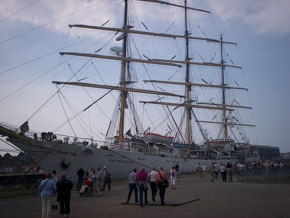 Dar Mlodiezy sail vlissingen 2007