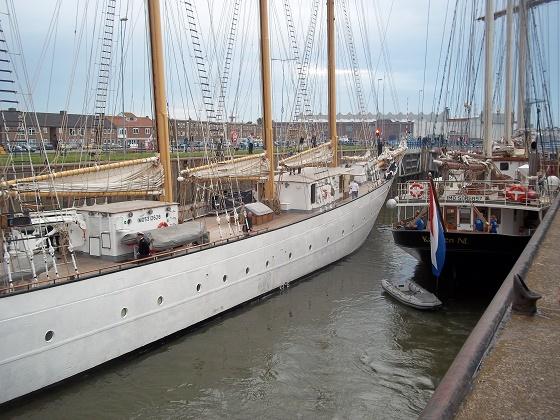 sail de ruyter 2013 zeilschepen in sluis