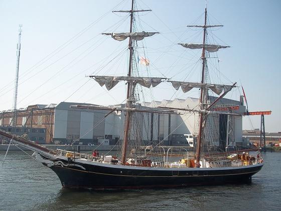 zeilschip de morgenster 2013