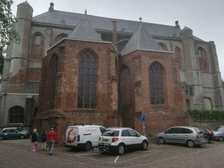 grote kerk veere zijkant