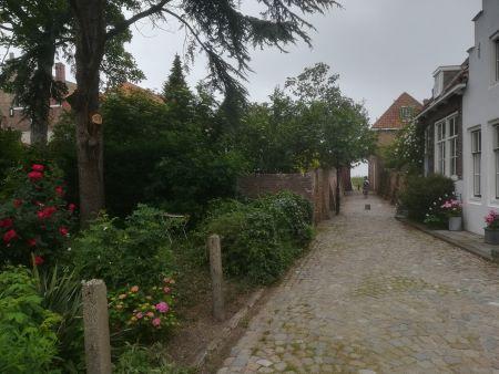 veere wandelen door dorp