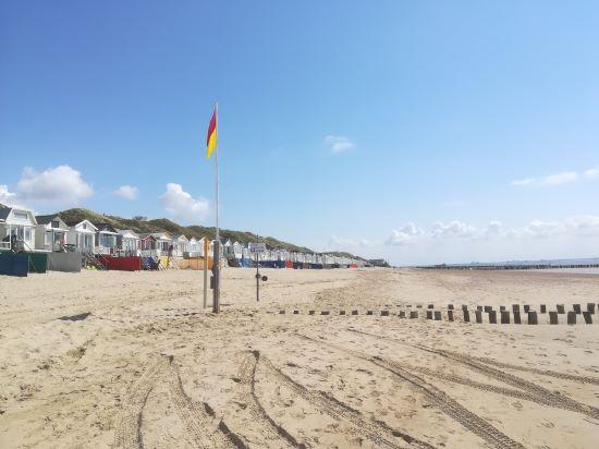 strand van Dishoek in mei 2021