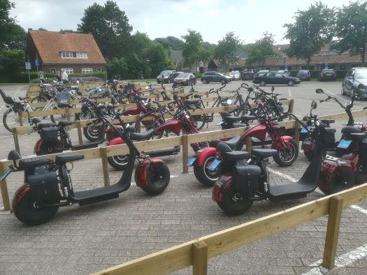 elektrische scooters in veere