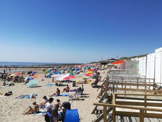strand Zoutelande De Branding
