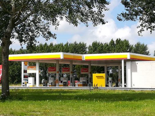 Shell tankstation Arnemuiden Zeeland