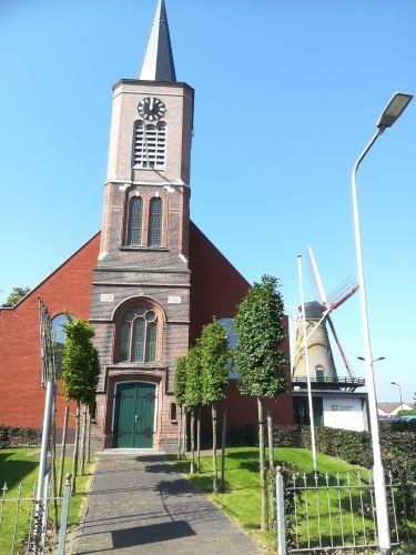 kerk in Hoek Terneuzen