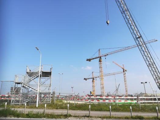 uitkijktoren bij Nieuwe Sluis Terneuzen